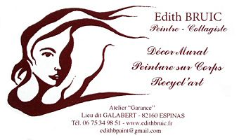 Edith BRUIC Peintre-Collagiste